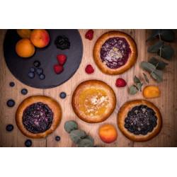 Špaldový koláč borůvkový 75g