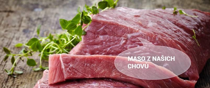 Maso z našich chovů